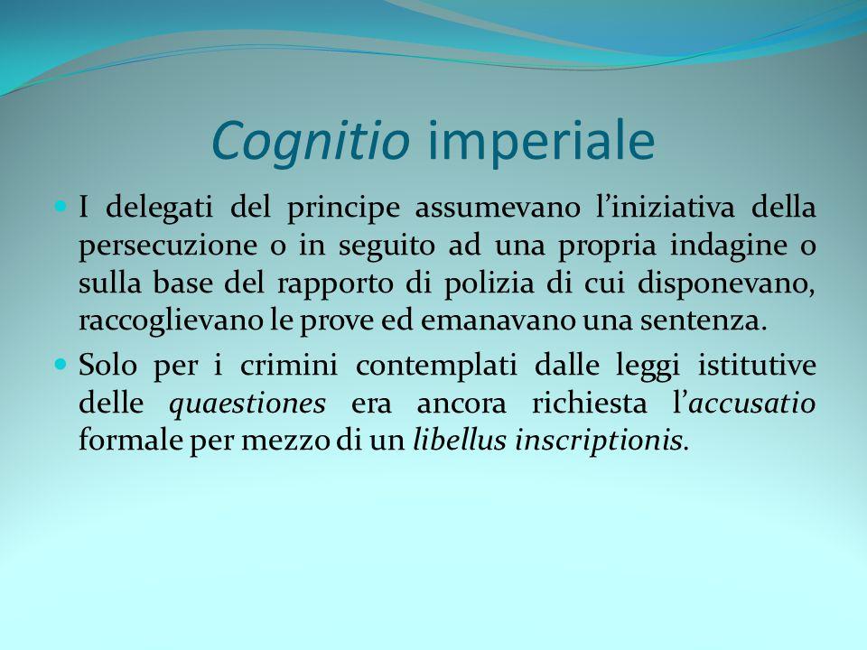 Cognitio imperiale