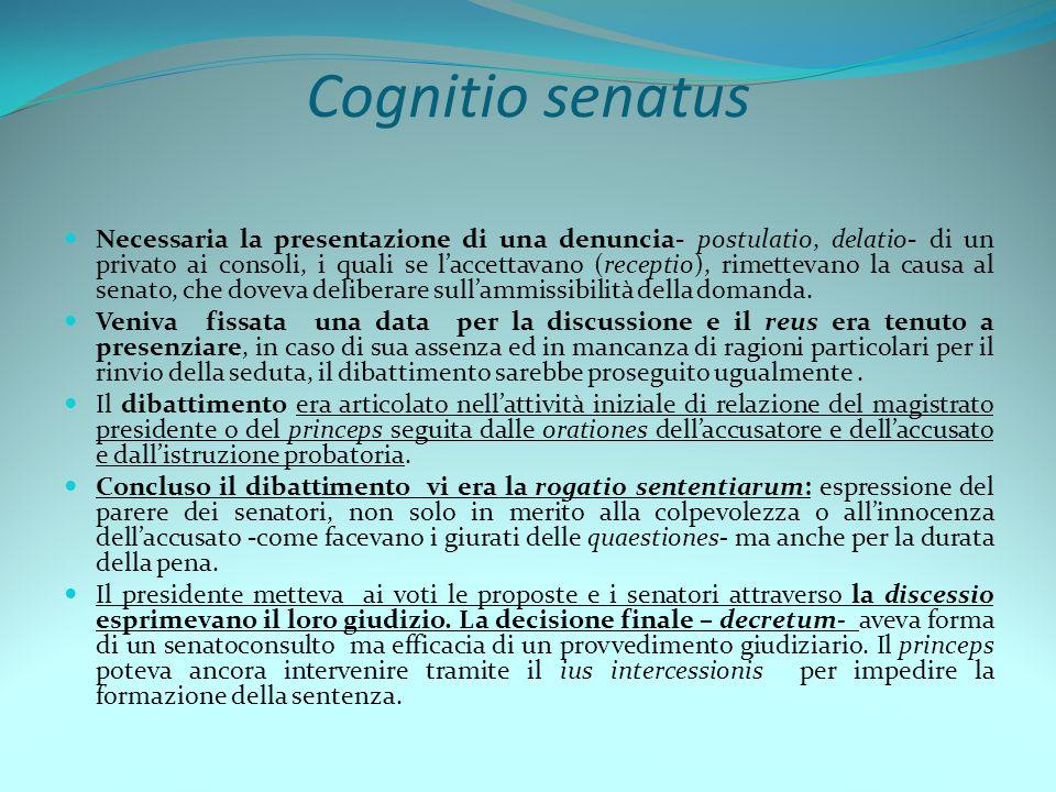 Cognitio senatus