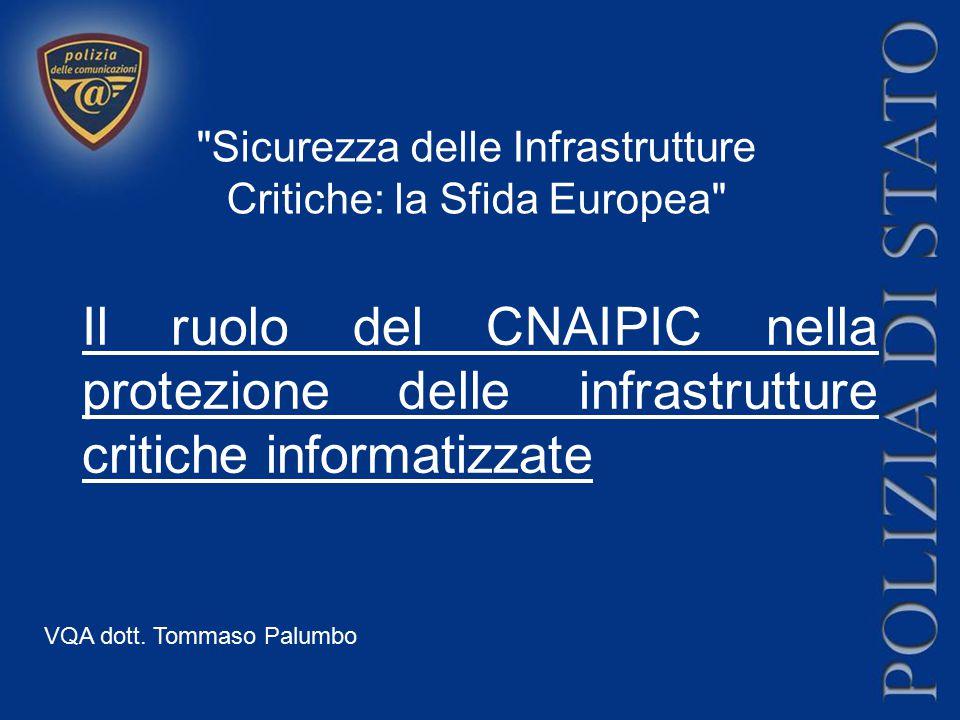 Sicurezza delle Infrastrutture Critiche: la Sfida Europea