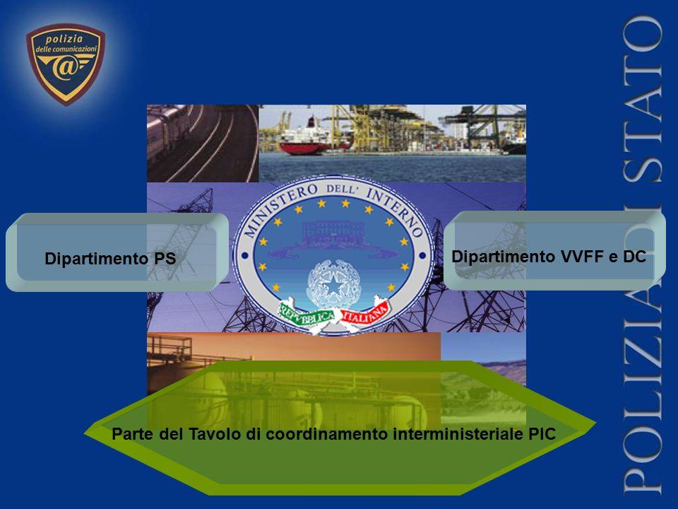 Parte del Tavolo di coordinamento interministeriale PIC