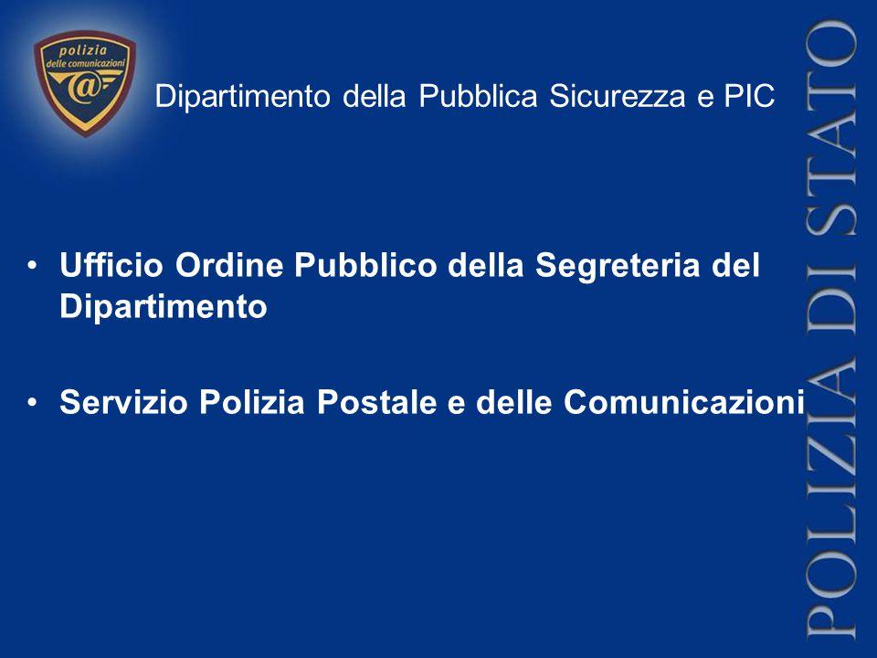 Dipartimento della Pubblica Sicurezza e PIC