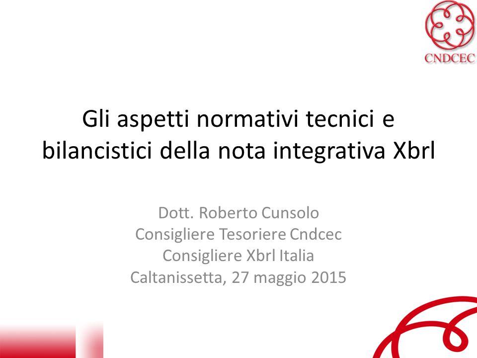 Gli aspetti normativi tecnici e bilancistici della nota integrativa Xbrl