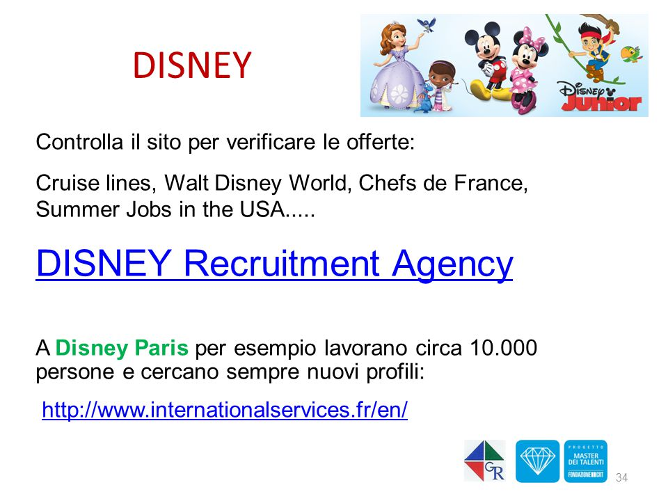 DISNEY DISNEY Recruitment Agency