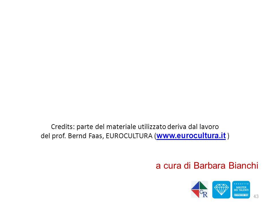 a cura di Barbara Bianchi