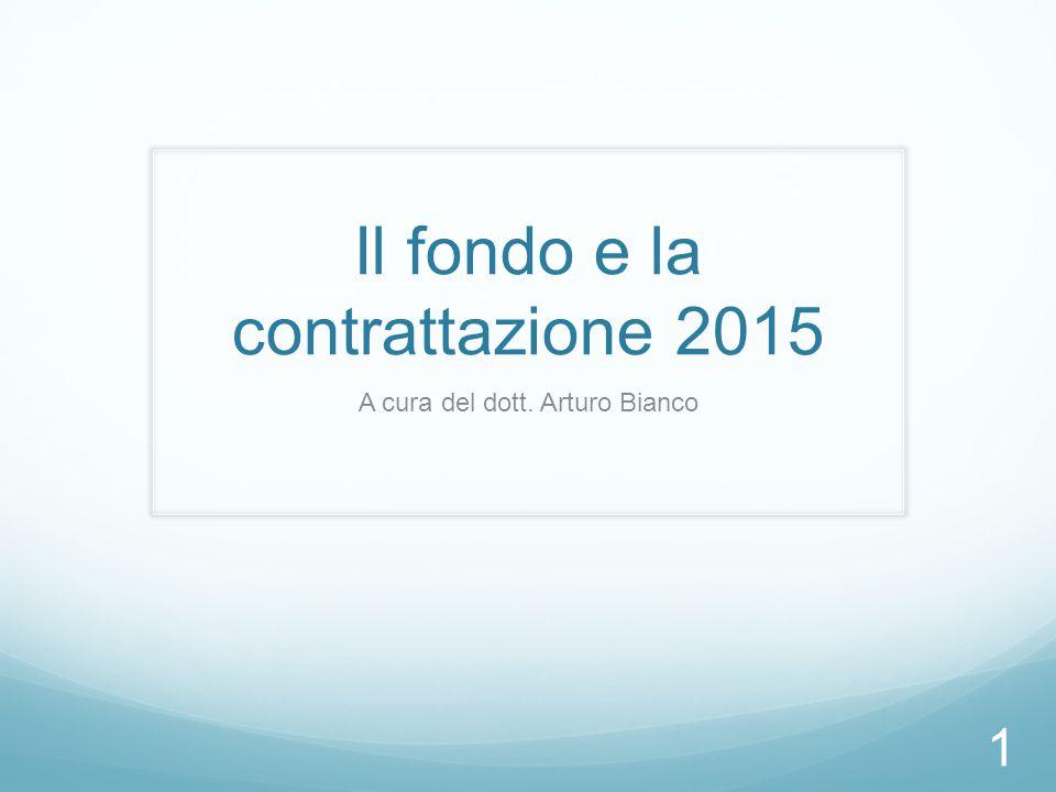 Il fondo e la contrattazione 2015