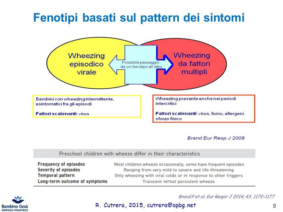 Fenotipi basati sul pattern dei sintomi