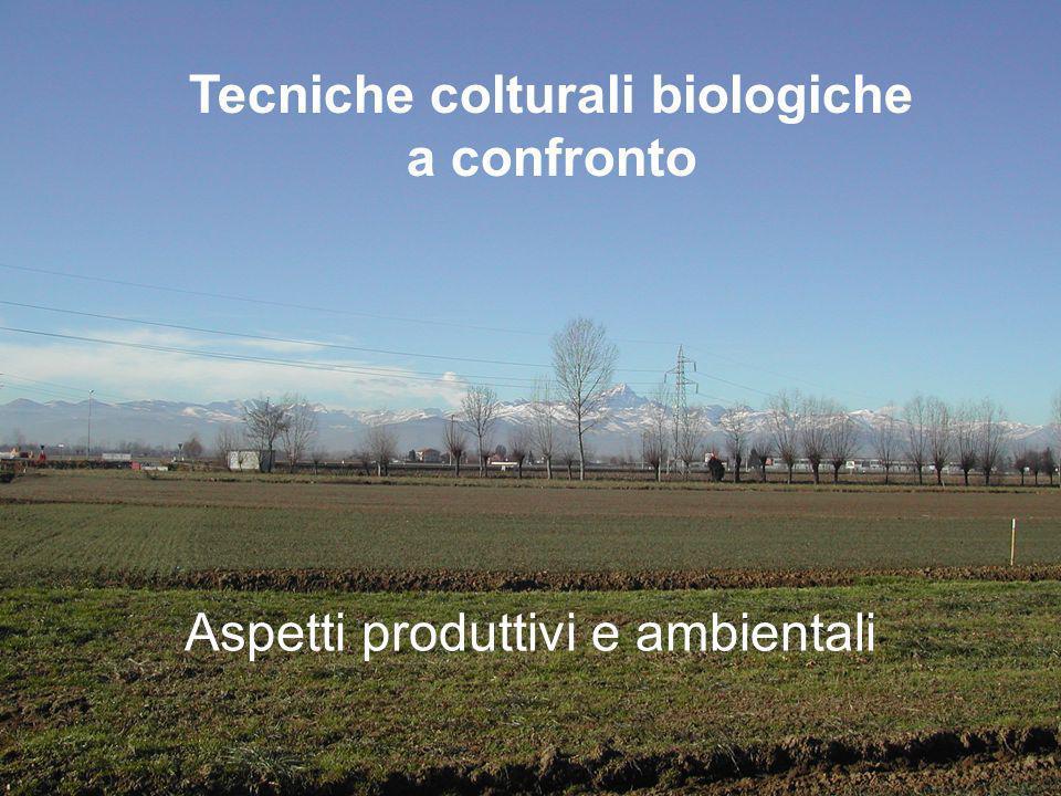 Tecniche colturali biologiche