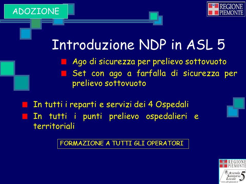 Introduzione NDP in ASL 5