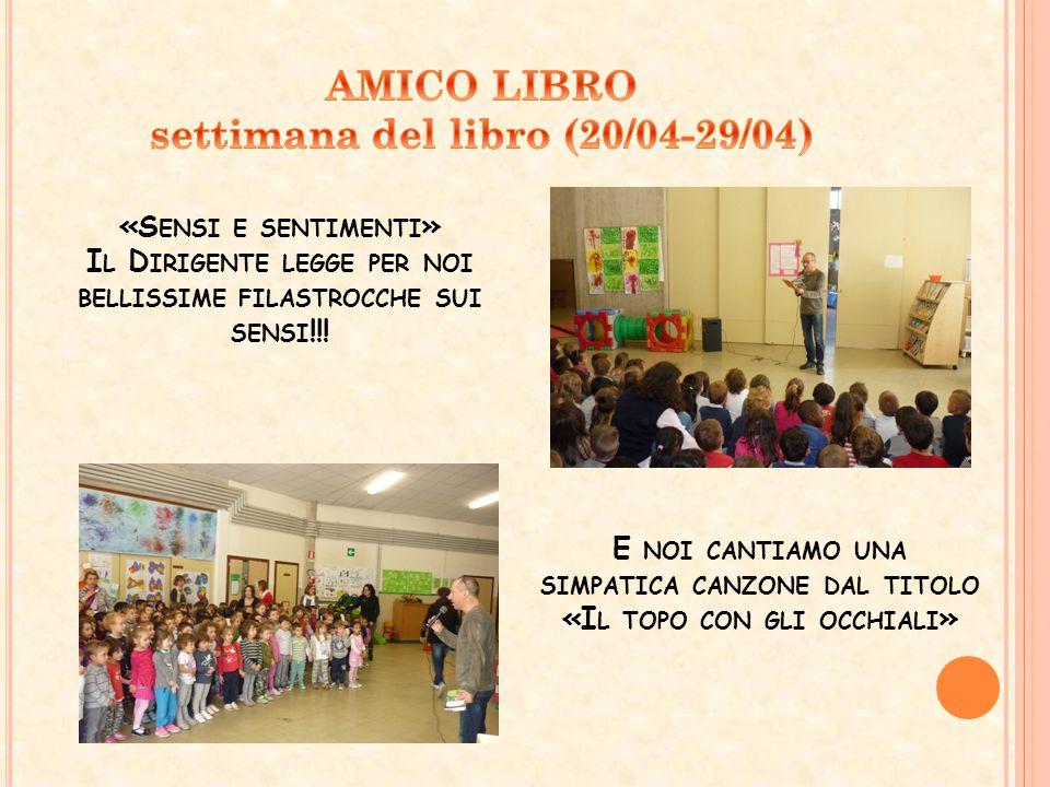 AMICO LIBRO settimana del libro (20/04-29/04)