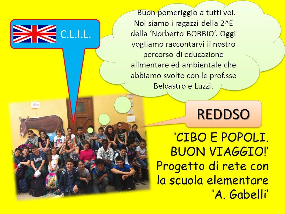 REDDSO 'CIBO E POPOLI. BUON VIAGGIO!'