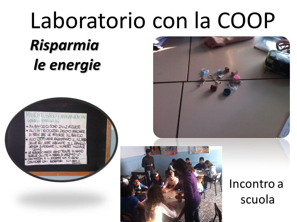 Laboratorio con la COOP