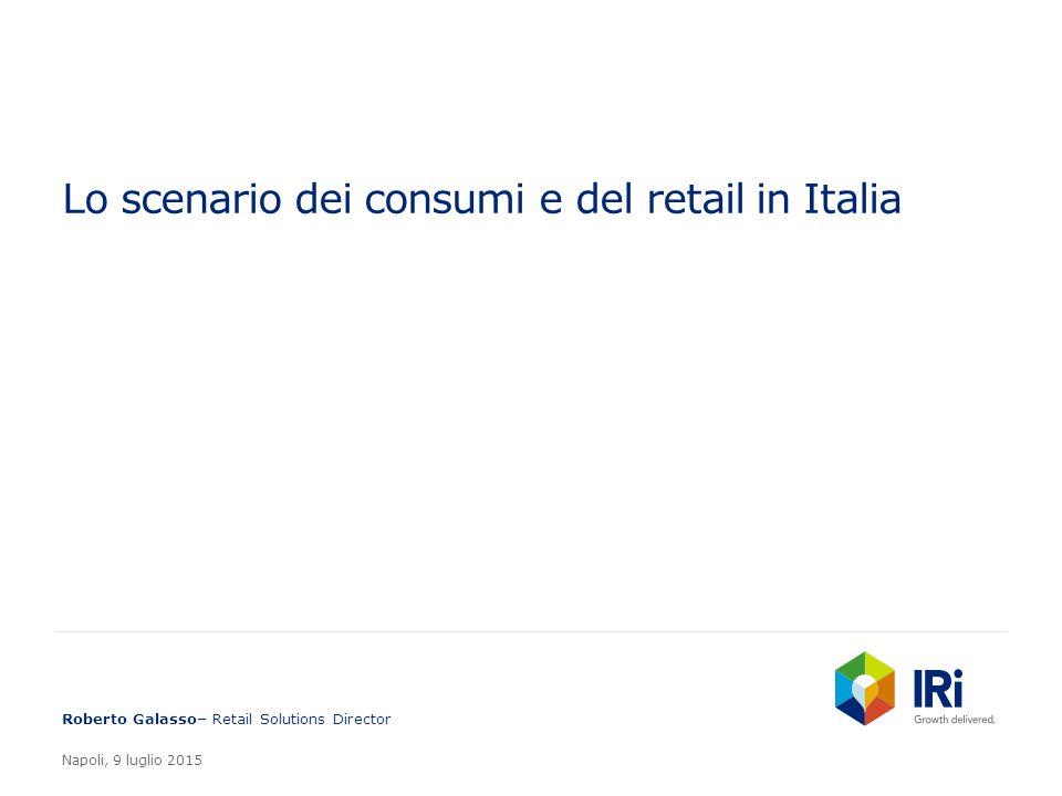 Lo scenario dei consumi e del retail in Italia