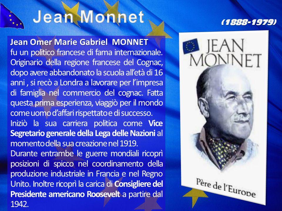 Jean Monnet Jean Omer Marie Gabriel MONNET