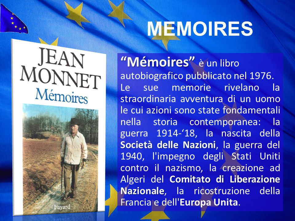 MEMOIRES Mémoires è un libro autobiografico pubblicato nel 1976.