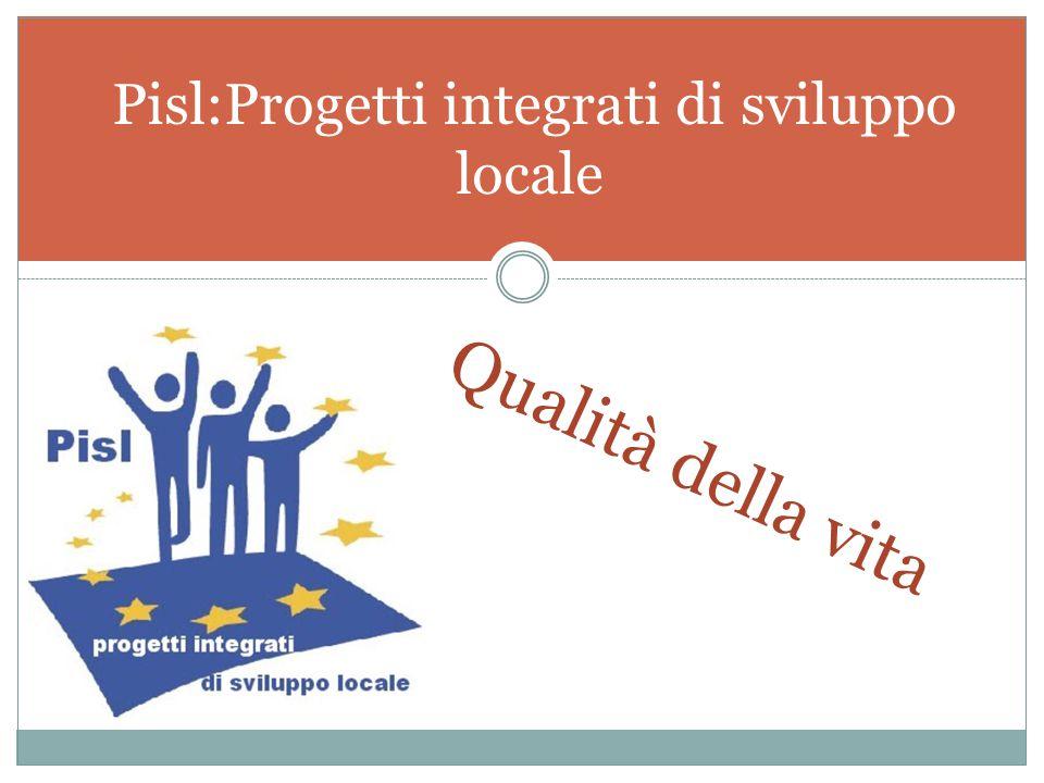Pisl:Progetti integrati di sviluppo locale