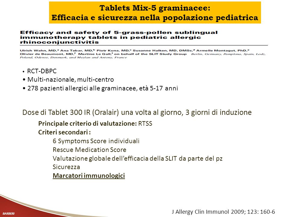 Tablets Mix-5 graminacee: