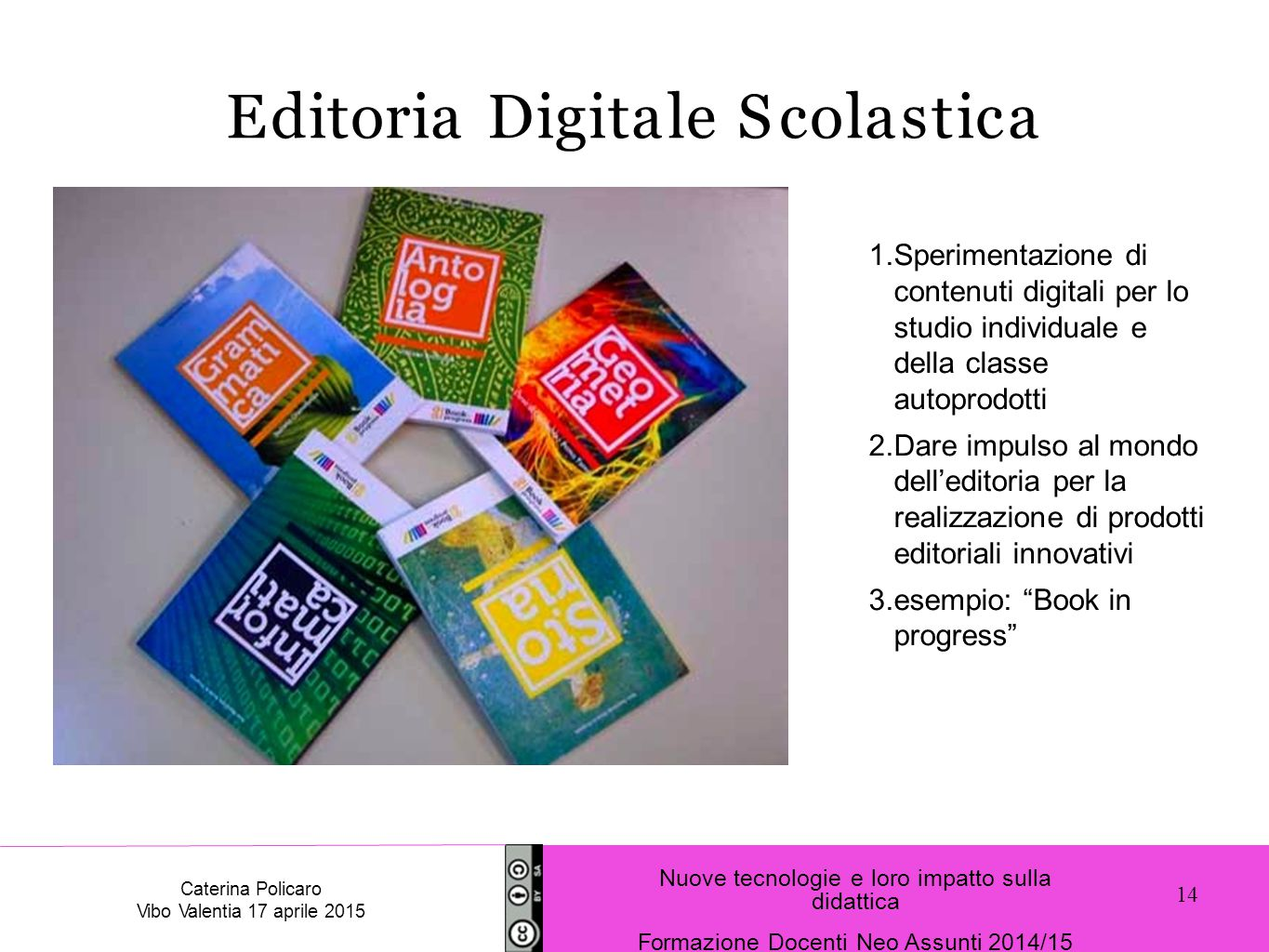 Editoria Digitale Scolastica