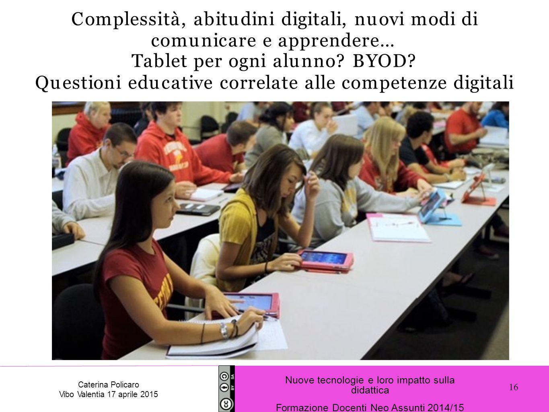 Tablet per ogni alunno BYOD