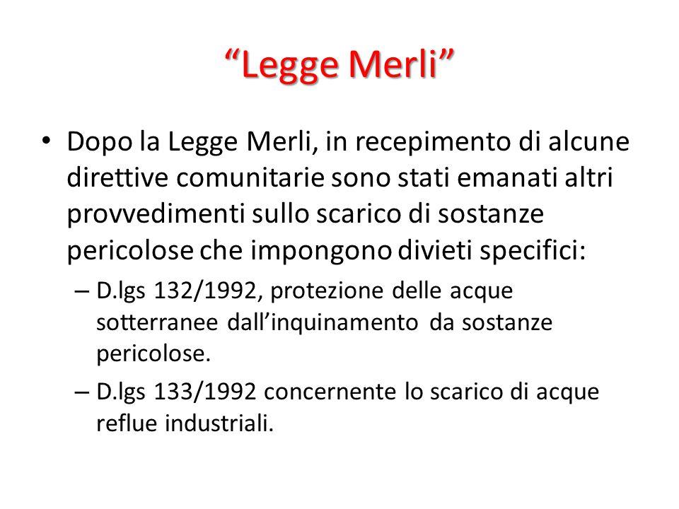 Legge Merli