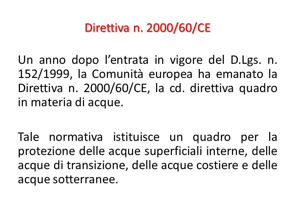 Direttiva n. 2000/60/CE