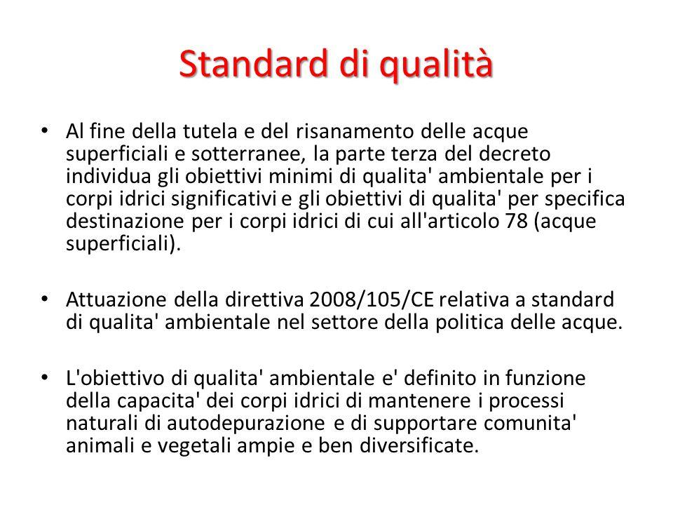 Standard di qualità