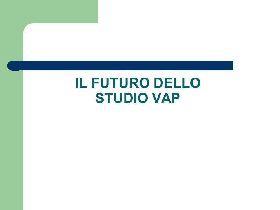 IL FUTURO DELLO STUDIO VAP