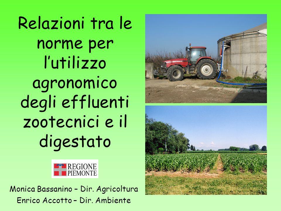 Monica Bassanino – Dir. Agricoltura Enrico Accotto – Dir. Ambiente