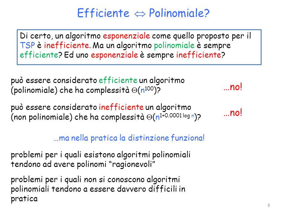 Efficiente  Polinomiale