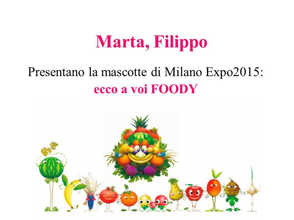 Presentano la mascotte di Milano Expo2015: