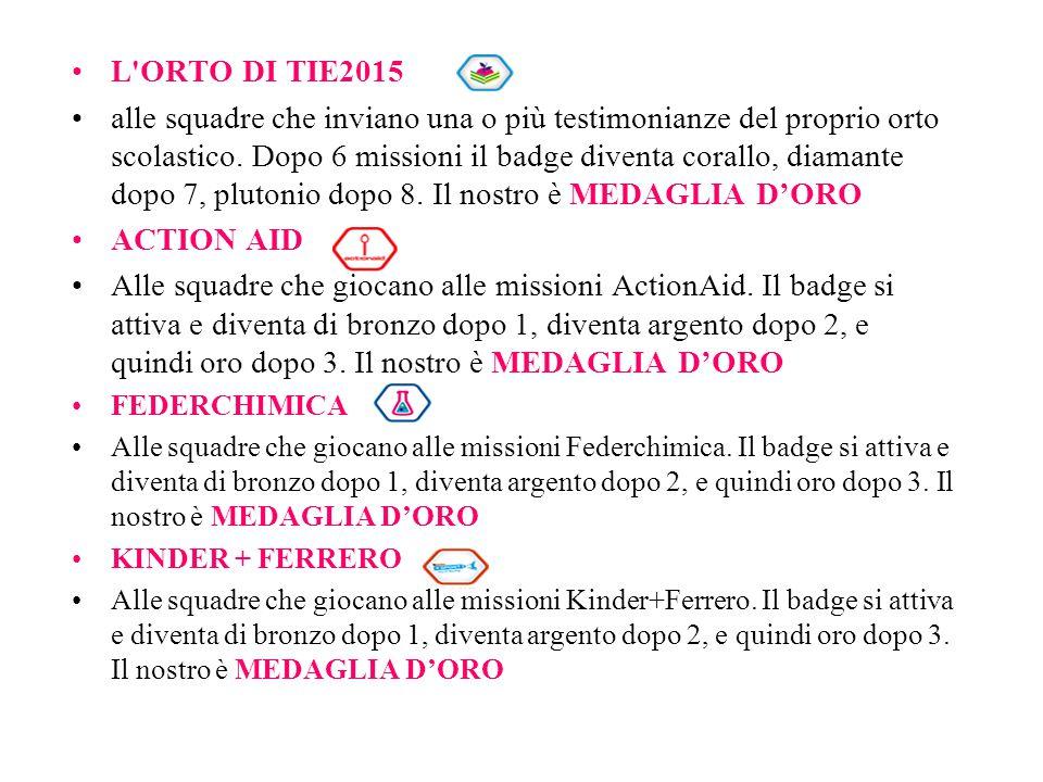 L ORTO DI TIE2015