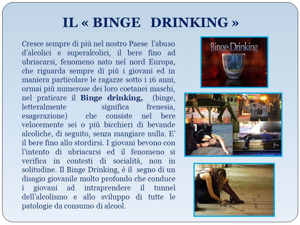 IL « BINGE DRINKING »