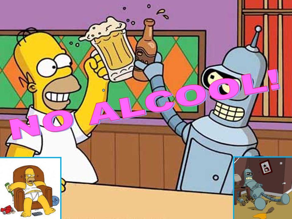 NO ALCOOL!