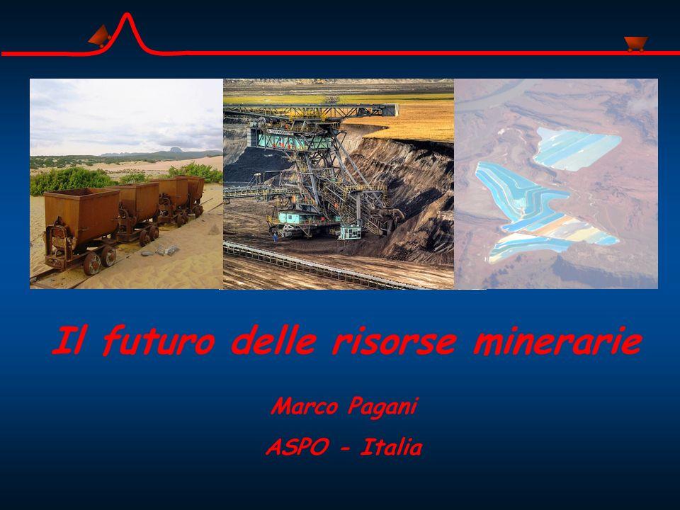 Il futuro delle risorse minerarie