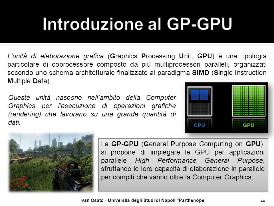 Introduzione al GP-GPU