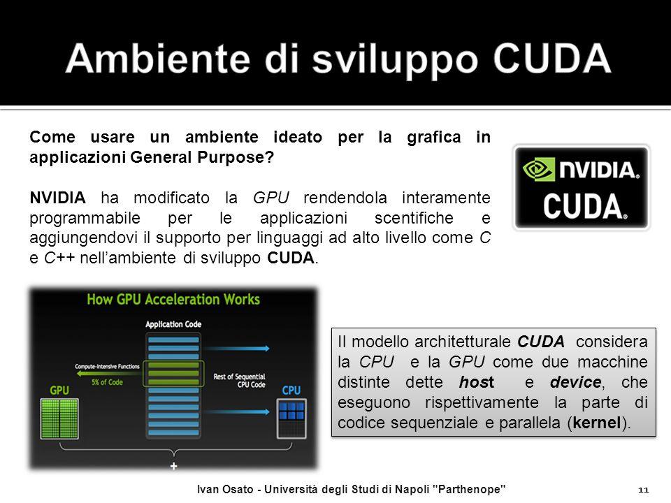 Ambiente di sviluppo CUDA
