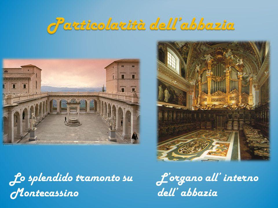 Particolarità dell'abbazia