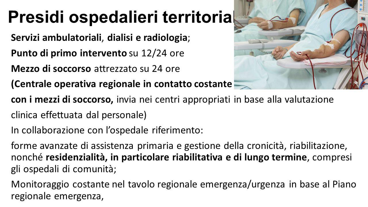 Presidi ospedalieri territoriali