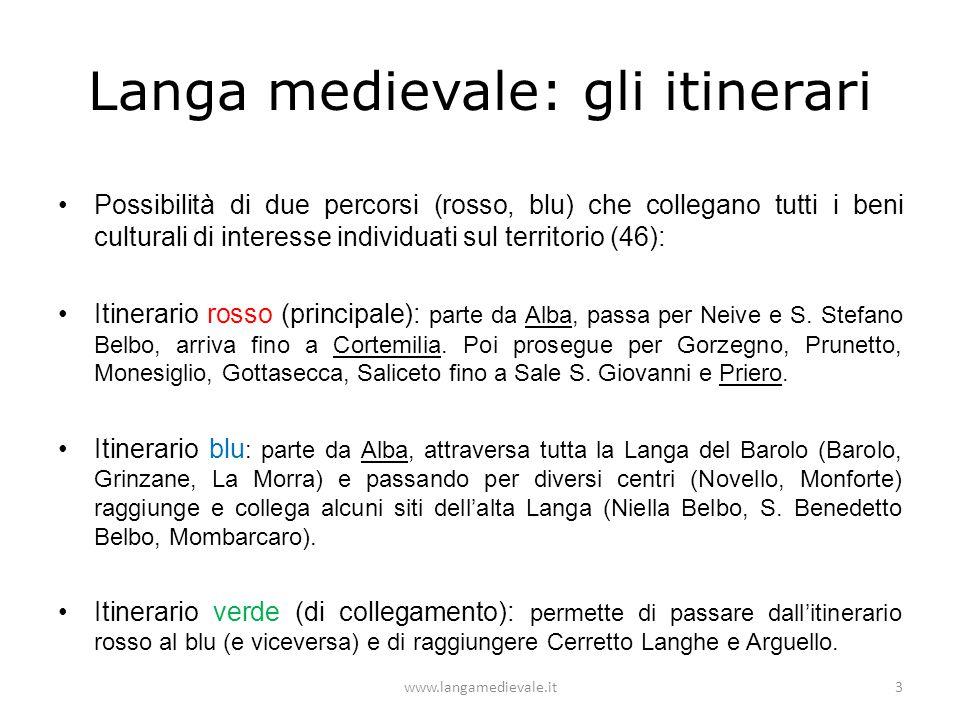 Langa medievale: gli itinerari
