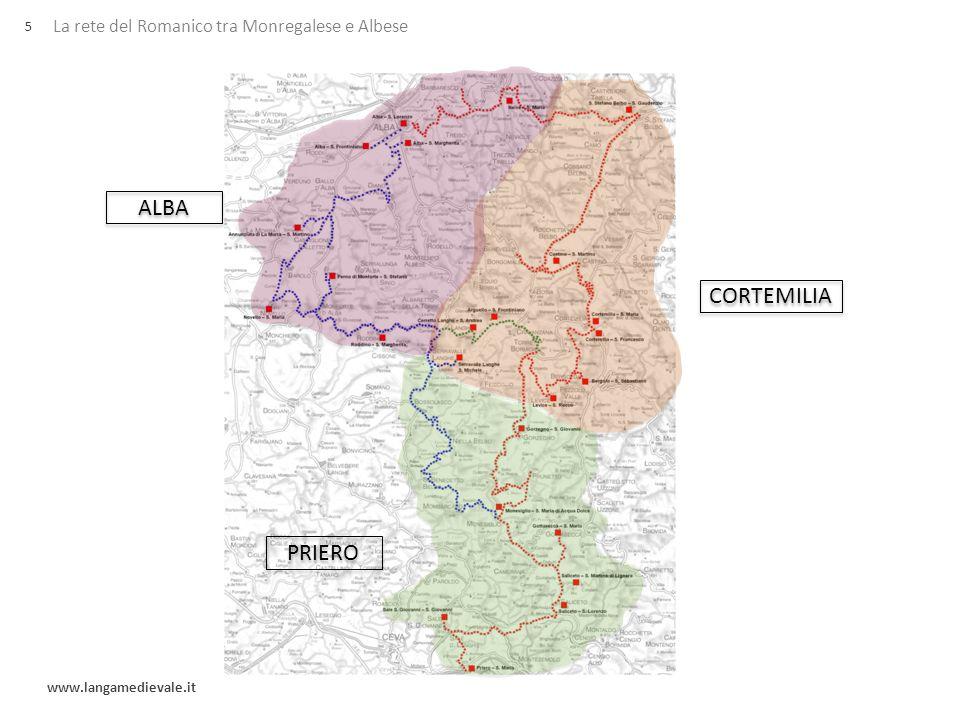 ALBA CORTEMILIA PRIERO La rete del Romanico tra Monregalese e Albese 5