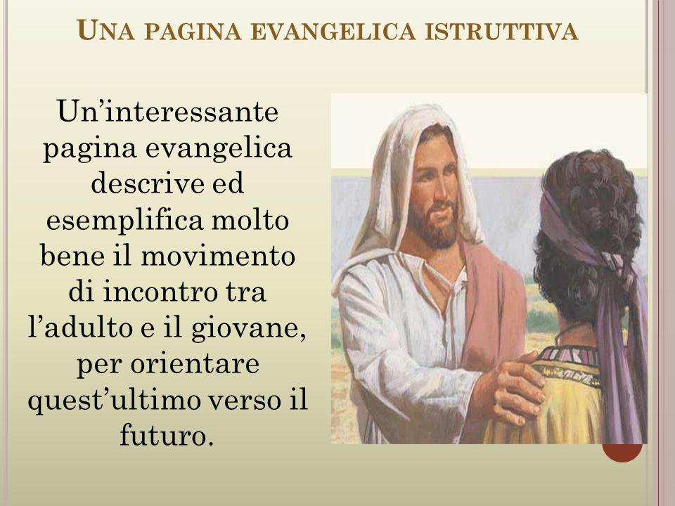 Una pagina evangelica istruttiva