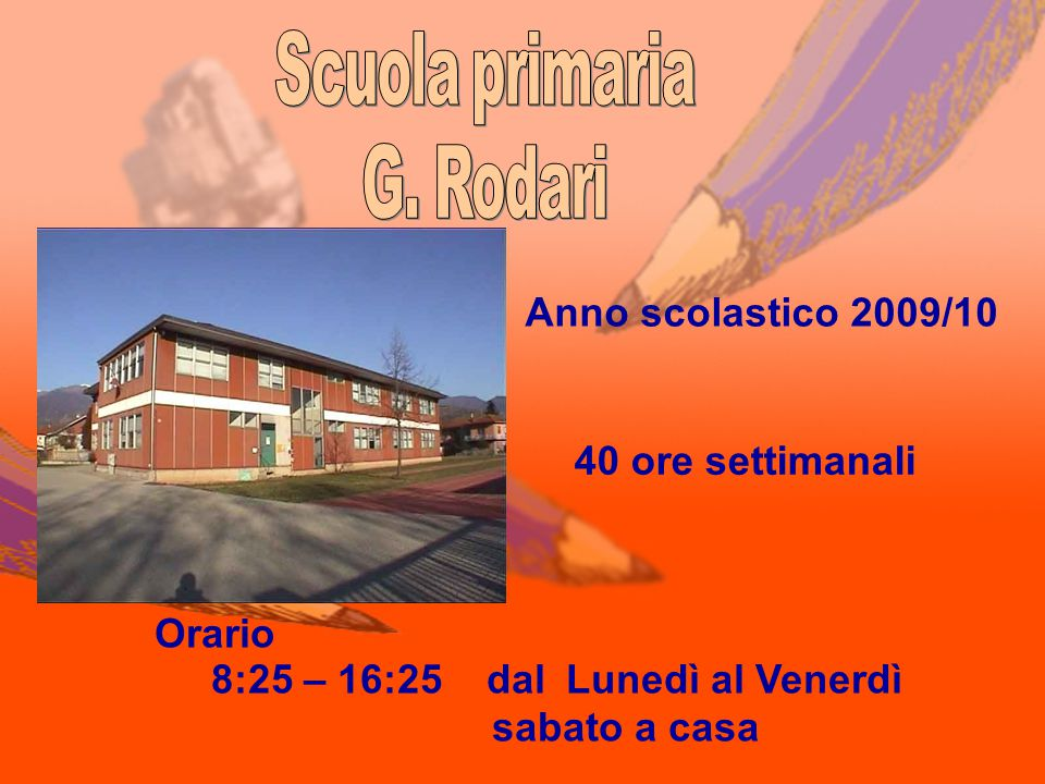 Scuola primaria G. Rodari