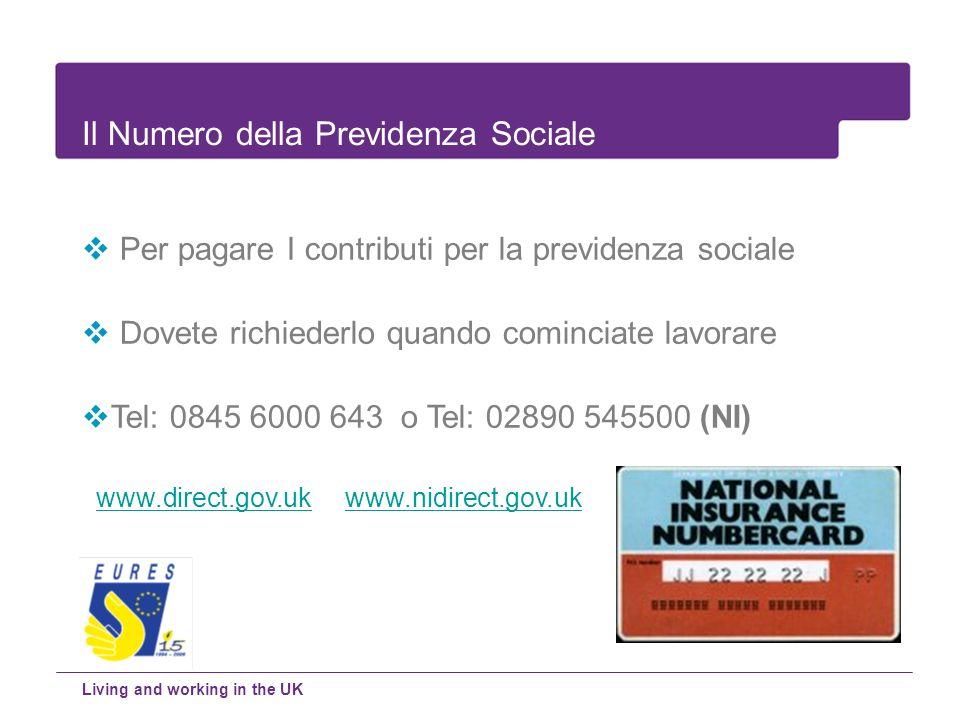 Il Numero della Previdenza Sociale