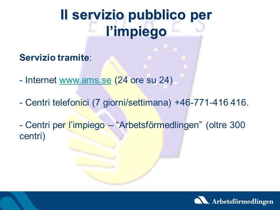 Il servizio pubblico per l'impiego