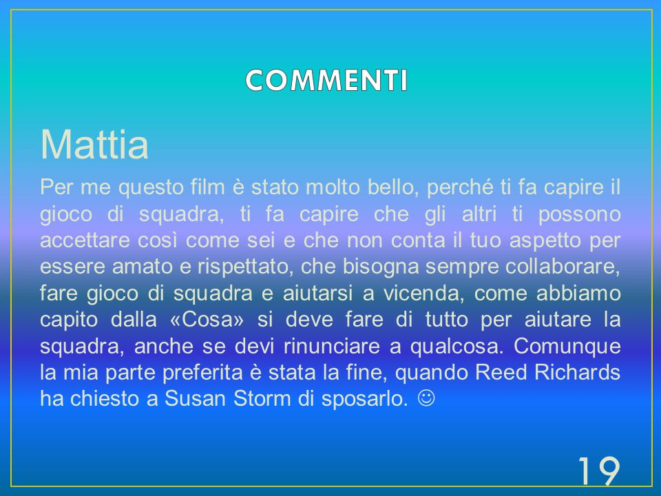 COMMENTI Mattia.