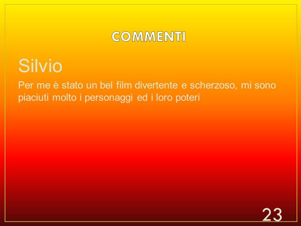 COMMENTI Silvio.