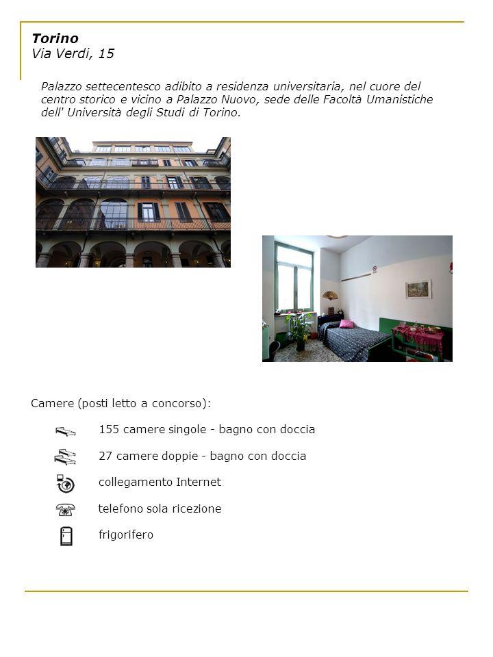 Torino Via Verdi, 15