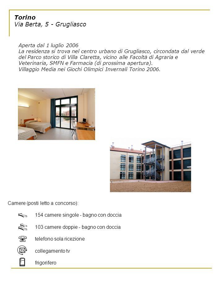 Torino Via Berta, 5 - Grugliasco