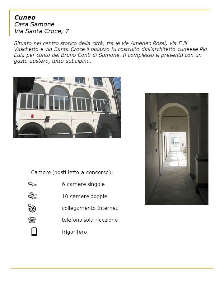 Cuneo Casa Samone Via Santa Croce, 7