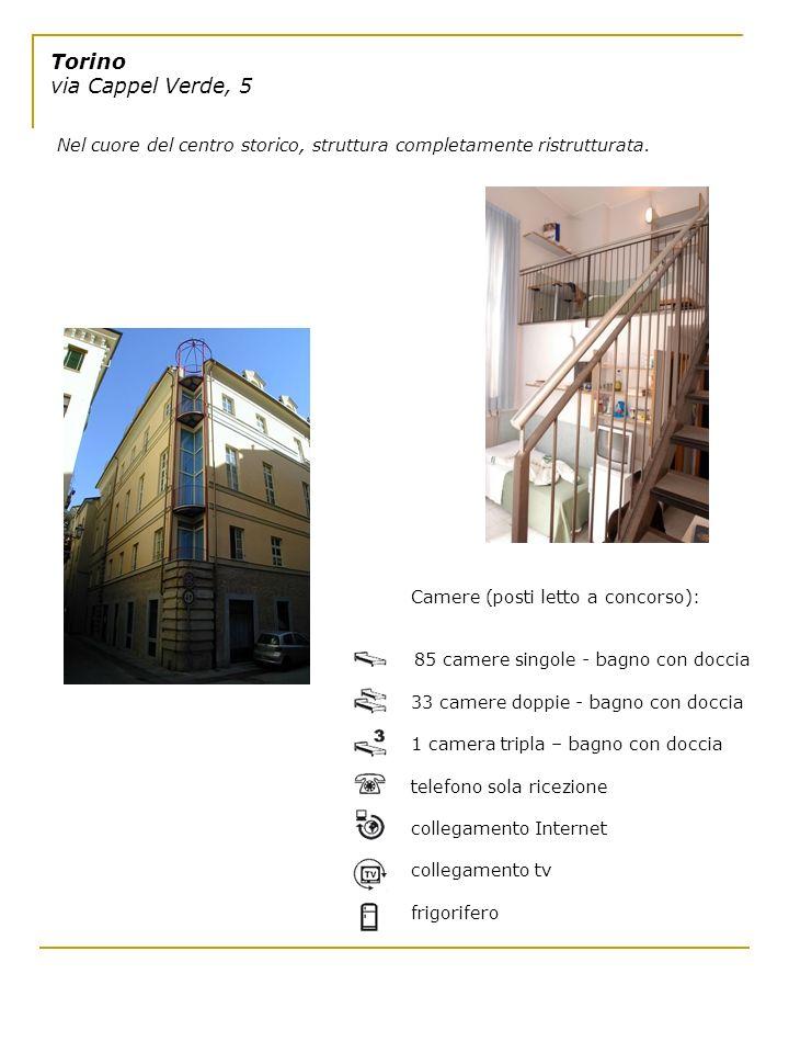 Torino via Cappel Verde, 5