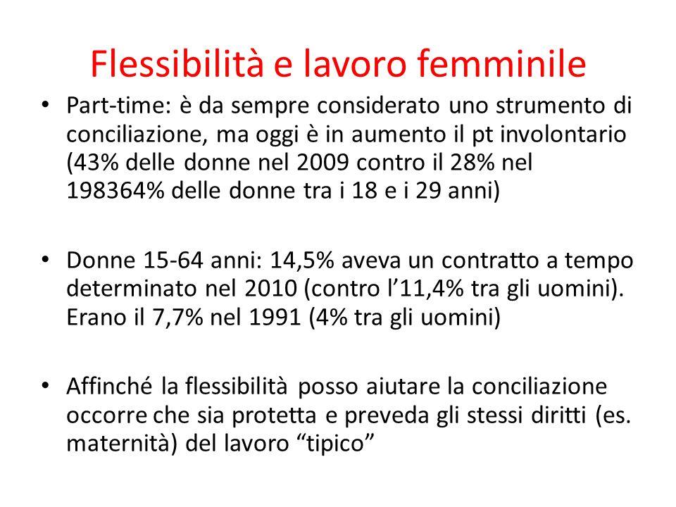 Flessibilità e lavoro femminile